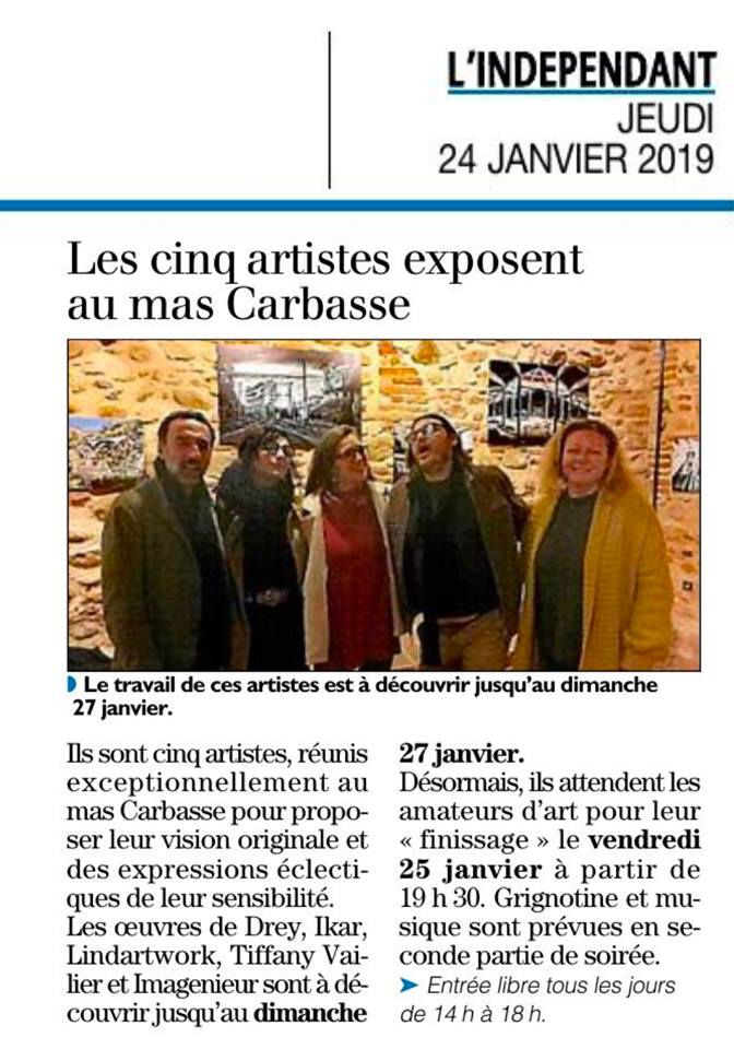 Mas Carbasse exposition