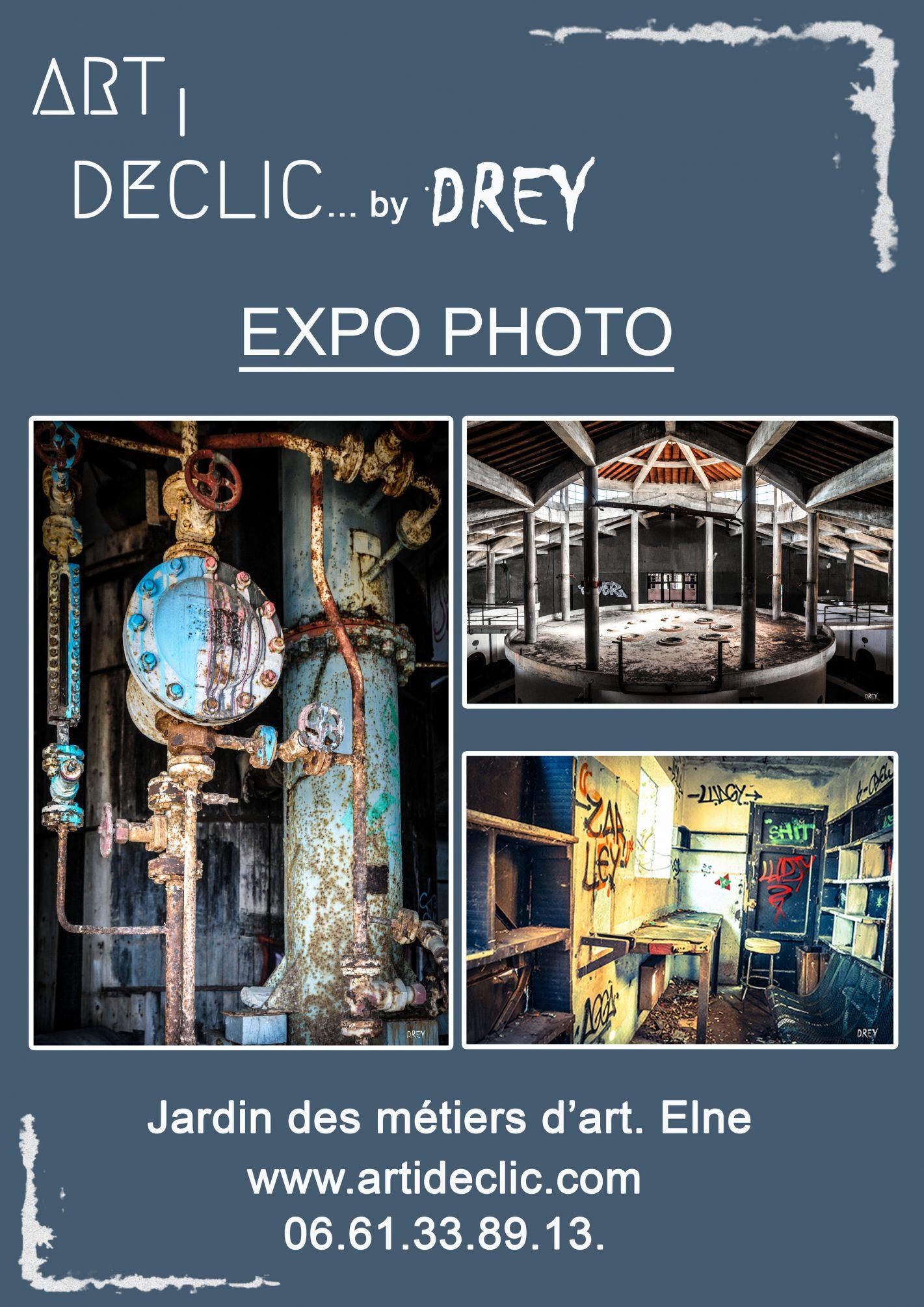 Drey expo photo Jardin des métiers d'art Elne